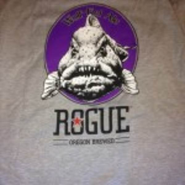 Rouge - Wolf-Eel Ale T-Shirt (Back)