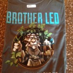 Red Brick Brother Leo T-Shirt