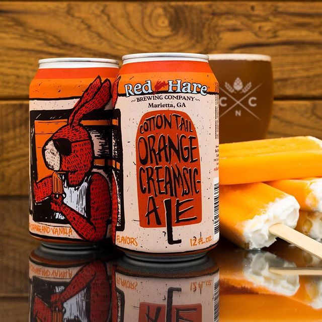red hare orange creamsic-ale